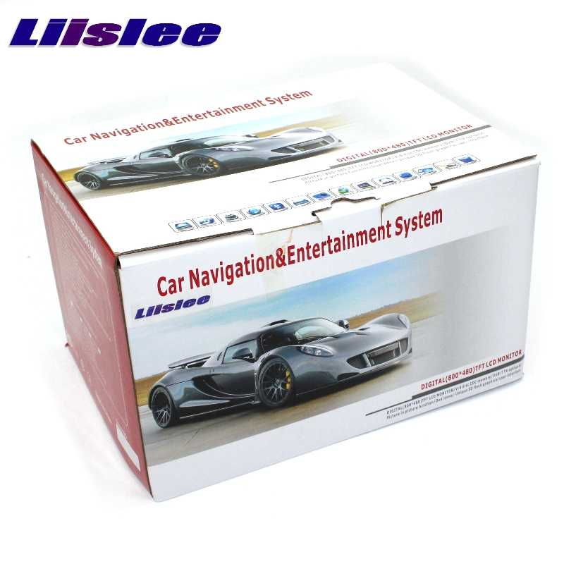 Liislee Mobil Multimedia GPS Hi-fi Audio Radio Stereo untuk Lexus LS 430 LS430 XF30 2000 ~ 2006 Gaya Asli Carplay navigasi Navi