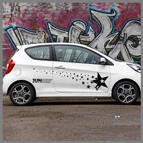 For-KIA-Picanto-Super-Star-Graphic-Vinyl-Decal-Auto-Door-Side-Decor-Sticker-Body-Protection-Decal