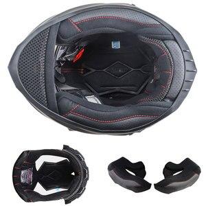 Image 4 - NENKI אופנוע מלא פנים קסדת Moto רכיבה ABS חומר מוטוקרוס קסדת אופנוע ECE הסמכה Casco Moto #