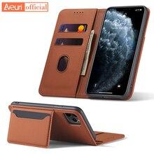 יוקרה ארנק עור מפוצל Flip טלפון מקרה עבור Huawei P20 P30 פרו P40 LITE E כבוד 20s 9s 9C y5P Y6P Y7P Mate 20 30 פרו לייט כיסוי