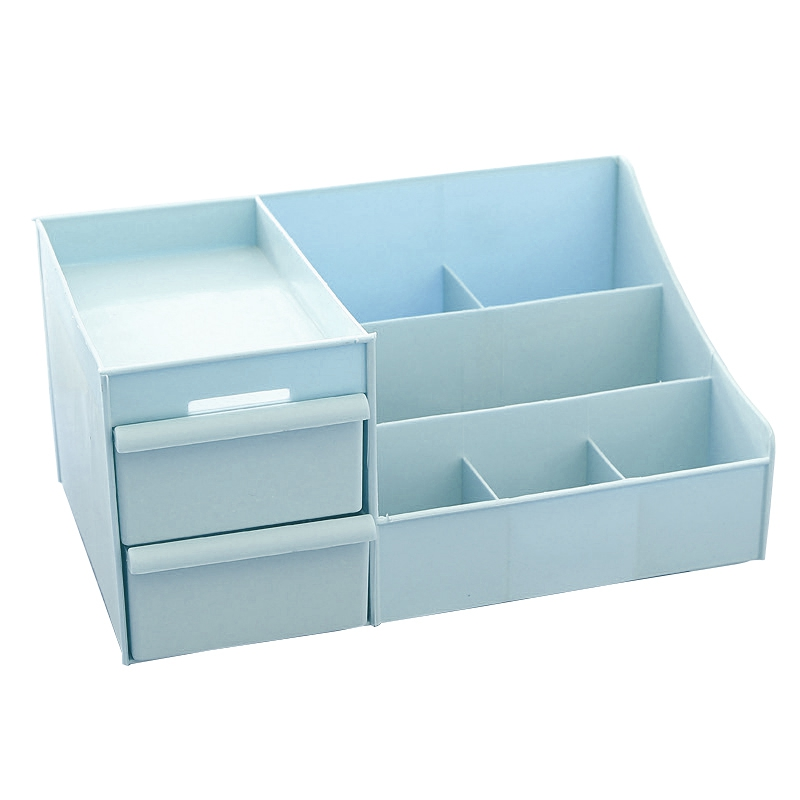 Plastic Storage Box Makeup Drawer Storage Box Box Jewelry Container Cosmetic Case Cosmetics Office Box Cosmetic Case
