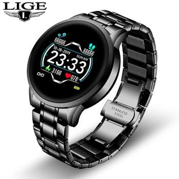 2020 New stainless steel Digital Watch Men Sport Watches Electronic LED Male Wrist Watch For Men Clock Waterproof Bluetooth Hour 13
