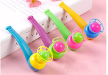 Toddler toys educational Interactive toys Blow Pipe & Balls - Pinata Toy Loot/Party Bag Fillers Wedding/Kids D30823(China)