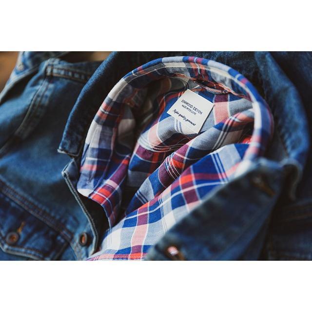 Vintage Shirt for spring in indigo