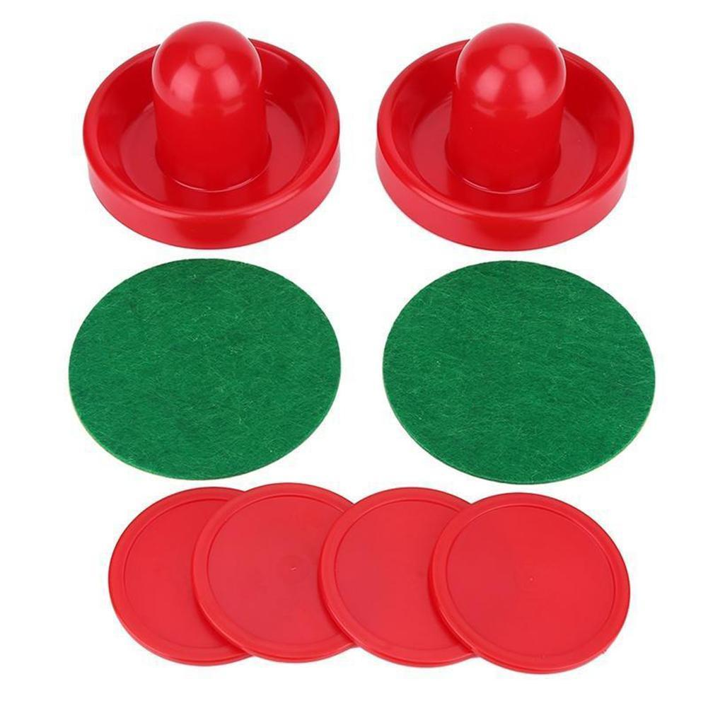 Air Hockey Accessories 76mm Batter Table Ice Hockey Table Set Hockey Putters Adult Entertaining Pucks Game Accessories Tabl W9D0