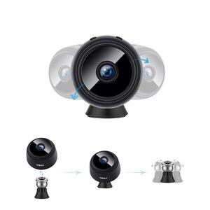 Image 5 - 2.0MP بروتابلي كاميرا IP صغيرة واي فاي 1080P HD كاميرا الأمن الصغيرة بطارية لاسلكية كاميرا للرؤية الليلية كاميرا مراقبة السيارة