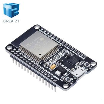 GREATZT ESP32 rozwój pokładzie WIFI + Bluetooth IoT inteligentny dom ESP-WROOM-32 ESP-32 ESP-32S tanie i dobre opinie CN (pochodzenie) Nowy Regulator napięcia ESP32 development board Komputer