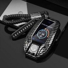 רכב מפתח Case כיסוי מפתח תיק עבור Bmw 1 3 5 7 סדרת X1 X3 X5 X6 X7 F30 G20 f34 f31 G30 G01 F15 G05 I3 M4 רכב סטיילינג אבזרים