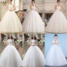 Свадебное платье, Свадебные платья без бретелей с бантом сзади, большие размеры, Vestido de novia XXN086