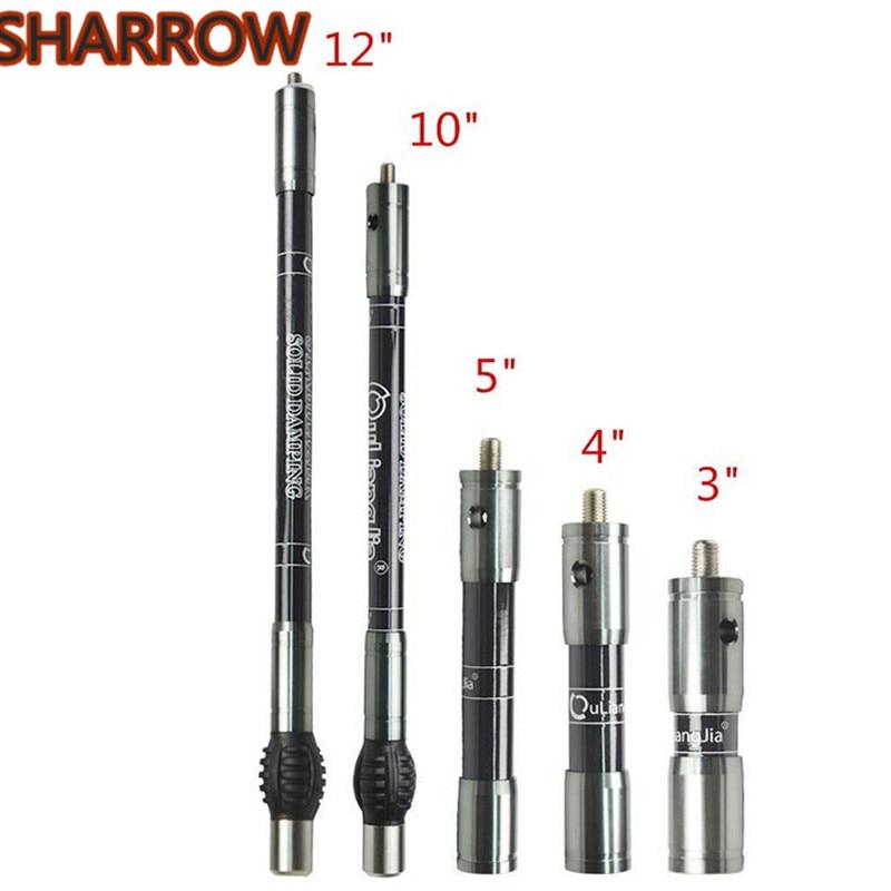 Archery Stabilizer Balance Carbon Rod Side Extender Bar Recurve Compound Bow