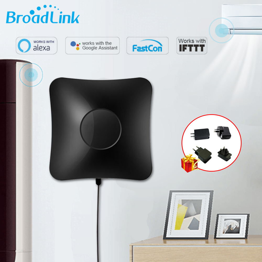 Broadlink RM4 Pro Wifi/IR/RF 433MHz/315mhz Remote Controller Unversal Work With TV Air Conditioner Google Home Alexa Smart Home