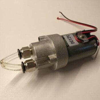 Bomba de aceite de engranaje de autosucción de 12V, bomba de transferencia de aceite de chorro de CC