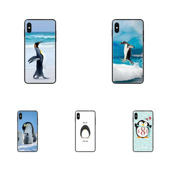 Hug A Penguin For Samsung Galaxy Note 4 8 9 10 20 Plus Pro Ultra J6 J7 J8 M30s M80s 2017 2018 Soft TPU Protector Cases image