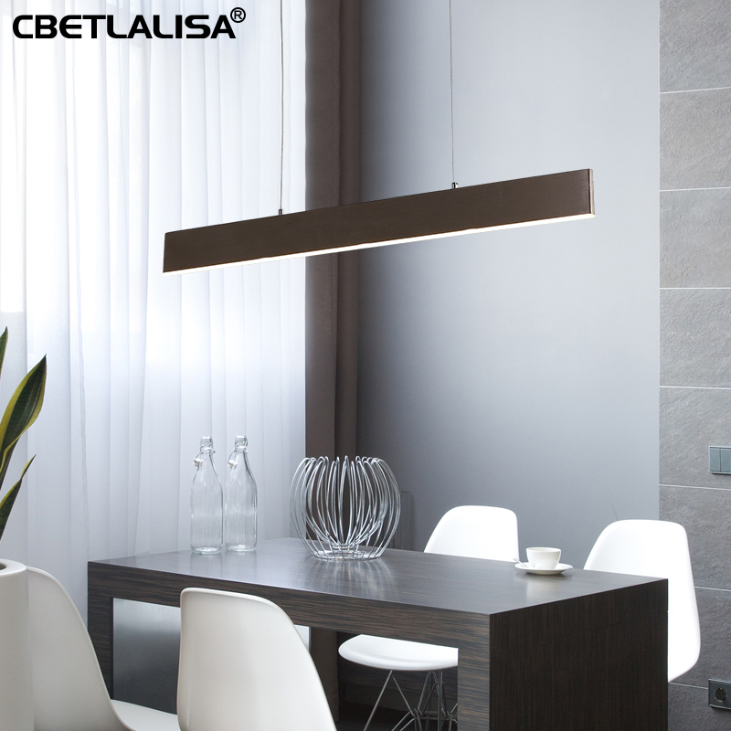 Dining room Pendant chandelier modern simple lines Personality Creative living dining bedroom, ceiling