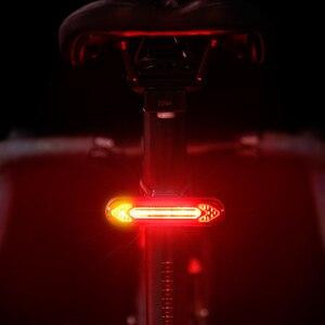 Image 5 - Светильник светильник задний Предупреждение дсветодиодный Аккумуляторный с зарядкой от USB и ду