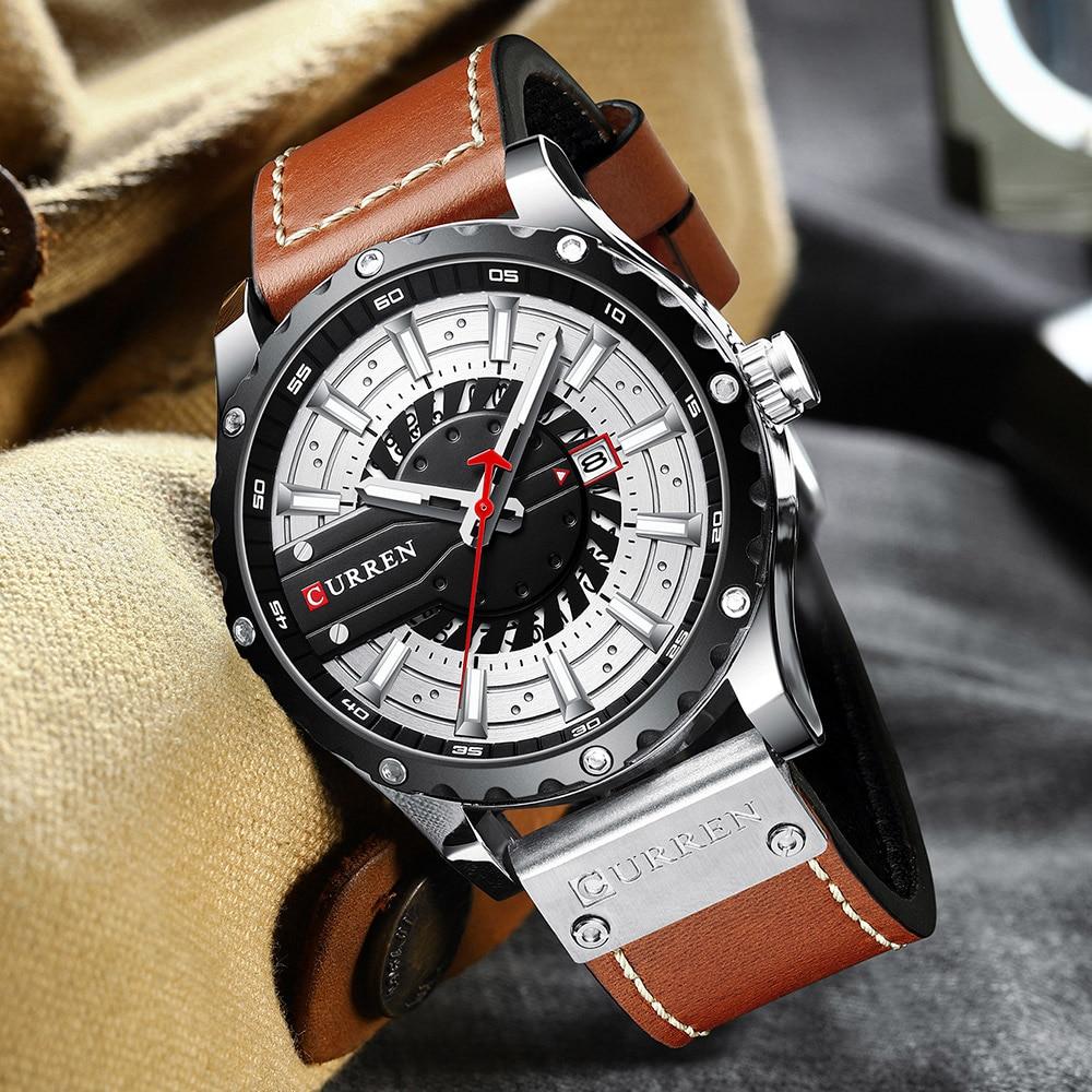 H3c29db6f6f3d40dabcdd69be7df24efet CURREN Watch Wristwatch  New Chic Luminous hands