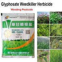 Amônio glifosato herbicida 50g, removedor de ervas daninhas grama folhas granulares pro