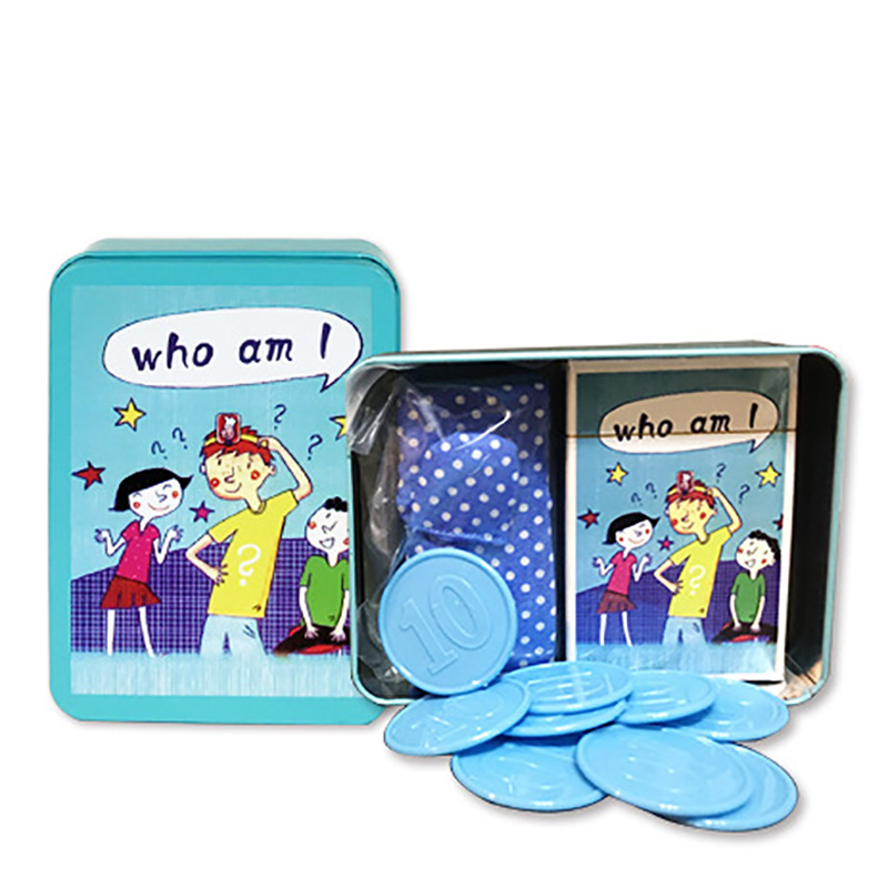 New Who Am I In The Puzzle Animal Party Game Parent-child Interactive Game Logic Training Party Board Game Baby Supplies
