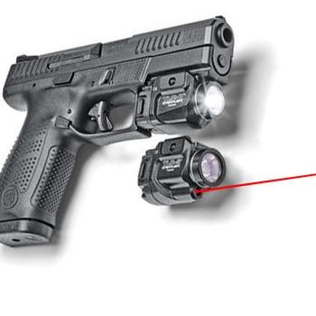 TLR Compact LED Weapon Light With Red Laser Sight For Pistol Hunting Glock 1 7 8 Laser Flashlight Fit Hk USP SIG CZ