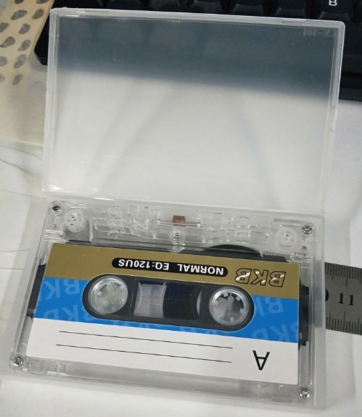 Tape-Player Empty-Tape Recording Blank Standard-Cassette for Speech with 60-Mins Magnetic title=