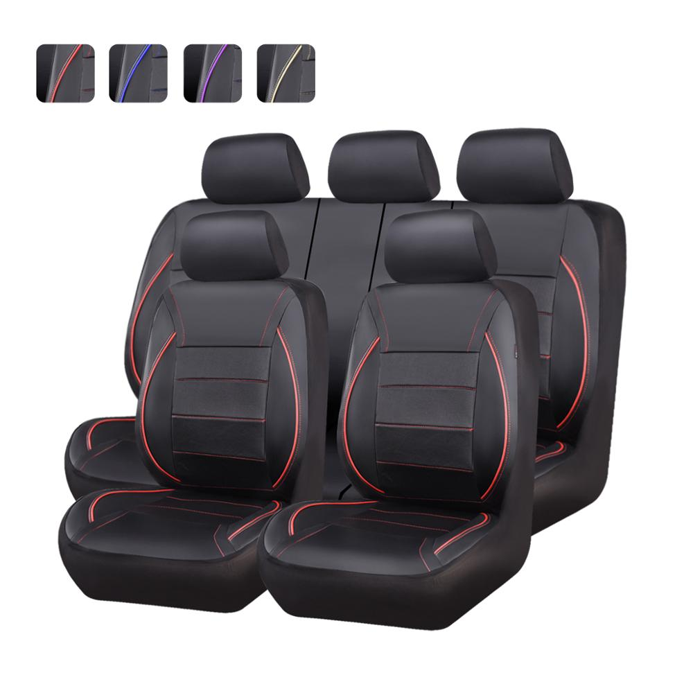FORD FOCUS ESTATE ALL YEARS BLACK REAR WATERPROOF SEAT COVERS