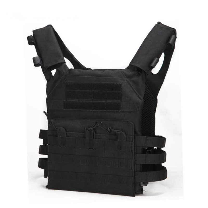 Jpc 600D Hunting Tactical Vest Military Molle Plate Carrier Magazine Airsoft Paintball CS Outdoor Protective Lightweight