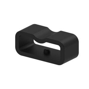 Image 2 - Ecsem 16mm רצועת Keeper לכבוד 4 להקת סיליקון לולאה שעון החלפה התמך חישוק גומי מקדמה בעל ביטחון