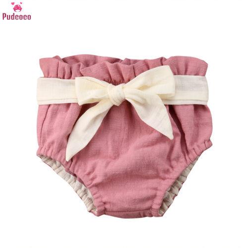2016 Baby Infant kids animal cartoon Ruffle Panties Briefs Diaper Cover Pants