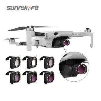 Sunnylife Mavic Mini Mavic Mini 2 zestaw filtrów MCUV ND NDPL CPL 4 8 16 32 filtr obiektywu kamery dla Dji Mavic Mini akcesoria do dronów tanie i dobre opinie CN (pochodzenie) Filtr UV 0 76-0 8g 89mm*51mm*25mm Mavic Mini Mavic Mini 2 Filters Set UV ND NDPL CPL