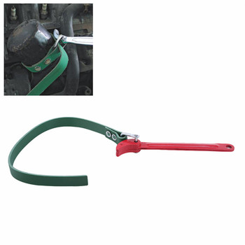 8 /12 Inches Belt Type Oil Filter Wrench Removal Tools Extractor Spanner Key Car Repair Hand