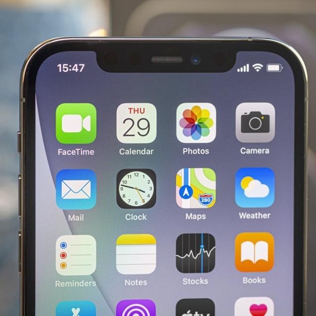 100% Original Apple iphone 12 pro 6GB RAM 128GB/256GB OLED Screen A14 Bionic 5G phone Support Face ID Unlocked Used 3