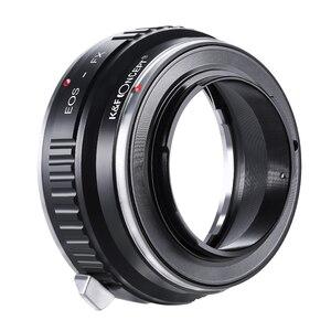 Image 3 - K & F CONCEPTสำหรับEOS FXกล้องเลนส์อะแดปเตอร์แหวนสำหรับCanon EOS EF/EFS Mountเลนส์สำหรับfujifilm X Mount Fuji X Pro1 XPro1 X