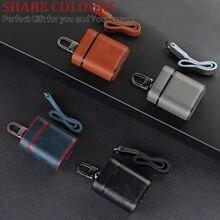 Кожаный пластиковый кожаный портативный защитный чехол металлическая