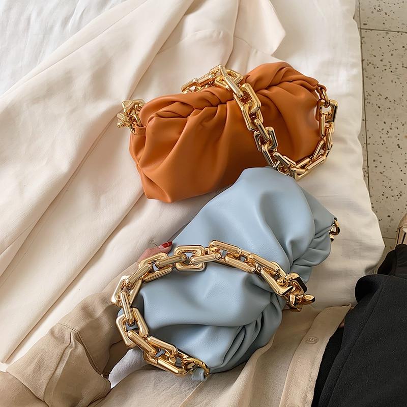 Bag For Women Cloud bag Soft Leather Hobos Bag Single Shoulder Purse Women Crossbody Bag Luxury Handbag And Purse Day Clutches 5