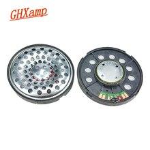 GHXAMP 53mm Headphone Speaker Unit 32 Ohm Full Range Headset Speaker Vocal Transparency Driver Unit 120dB 20-20KHz 2pcs