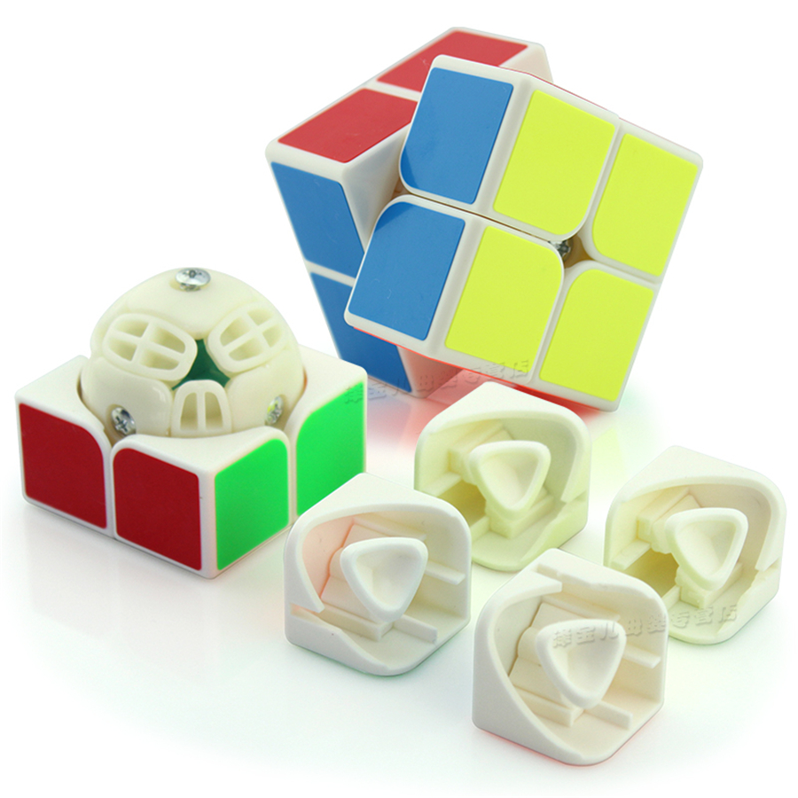 Speed Cubes Stress Reliever Infinite Magic Cubes Educativo Cubo Magico Puzzle Speed Classic New Education Toy Sensory EE50MF(China)