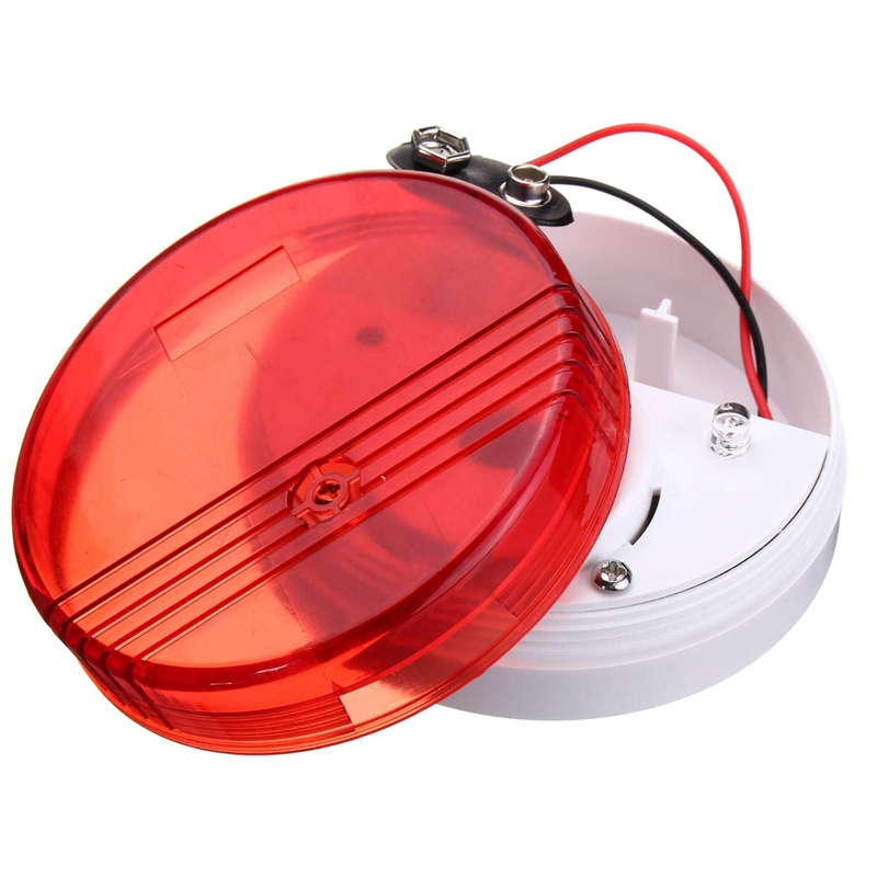 Household Water Leakage Overflow Sound And Light Alarm Home Leakage Detector
