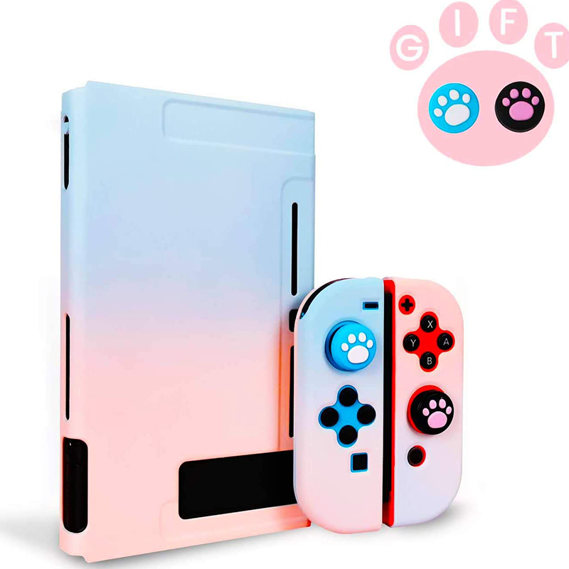 Detachable Colorful PC Case Fundas For Nintendos Nintend Switch NS NX Cases Hard Plastic Back Cover Shell Coque Ultra Thin 2