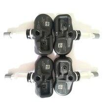 4本タイヤ空気圧監視システムtpmsセンサー433mhzの42607から02031トヨタ · アベンシスPMV C210 auris RAV4ヤリス裏面
