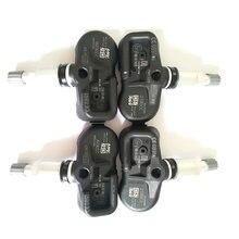 4 adet TPMS sensör lastik basıncı İzleme sistemi 433MHZ 42607-02031 PMV-C210 landcruiser için Avensis Auris RAV4 yaris Verso