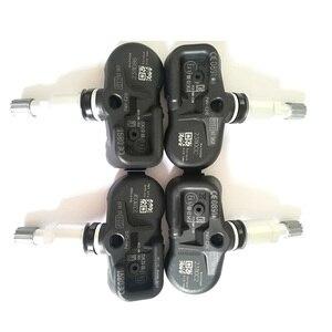 Image 1 - Sensor tpms do sistema de monitoramento da pressão dos pneus de 4 pces 433mhz 42607 02031 PMV C210 para toyota avensis auris rav4 yaris verso