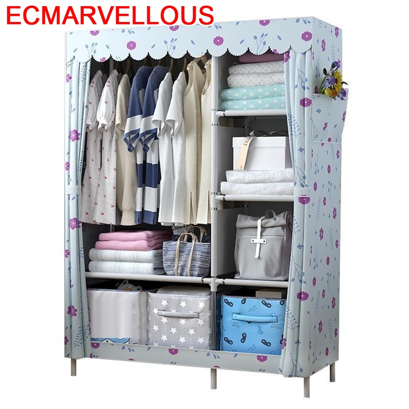 Ropero Mobilya Moveis Para Casa Armoire Armario Tela Meuble De Rangement Bedroom Furniture font b Closet