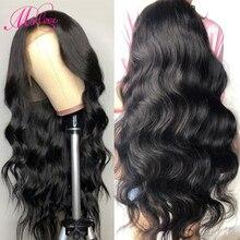 360, парик с фронтальной тесьмой, волнистые человеческие волосы, парики, предварительно выщипанные натуральные бразильские парики, MS, любовь, не Реми