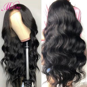 360 Lace Frontal Wig Pre Plucked With Baby Hair Body Wave Lace Front Human Hair Wigs Natural Brazilian Wig Ms Love Non Remy