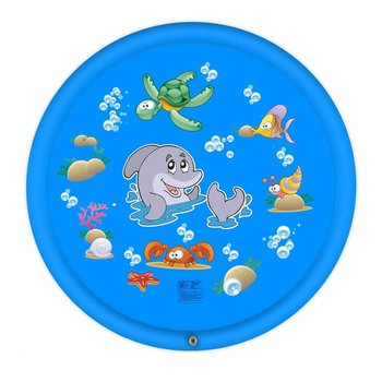 Water Spray Game Mat Lawn Sprinkler Mat PVC Interest Cultivation Water Spray Pad For Children Lawn Water Pad