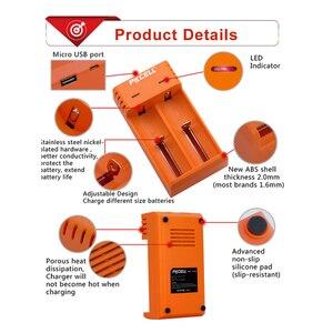 Image 5 - PKCELL 18650 מטען תשלום עבור 3.7V AA/AAA 26650 16340 16650 14650 18350 18500 18650 ליתיום סוללה מטען USB 5V 2A 2 חריץ