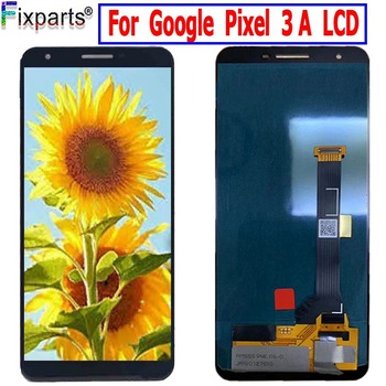 Tested For Google Pixel 3A LCD Display Touch Screen Digitizer Assembly Replacement+Tools For Google Pixel 3A LCD Screen