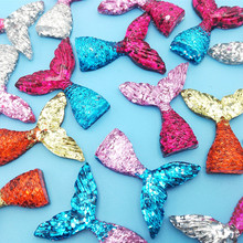 10PCS Mermaid Tail Charms For SLIME Girl Hair Pin Jewelry Colors Resin
