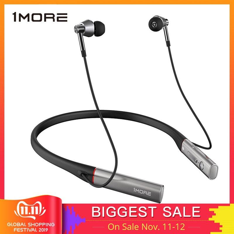 1 mais triple driver e1001bt fones de ouvido bluetooth com alta qualidade de som sem fio ldac, isolamento de ruído ambiental