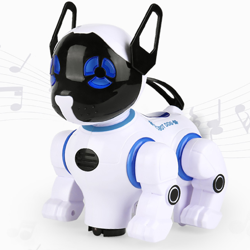 Electronic Smart Robot Dogs Remote Control Machine Dog Universal Walking Singing Dancing Kids Early Educational Toys 2629-T9